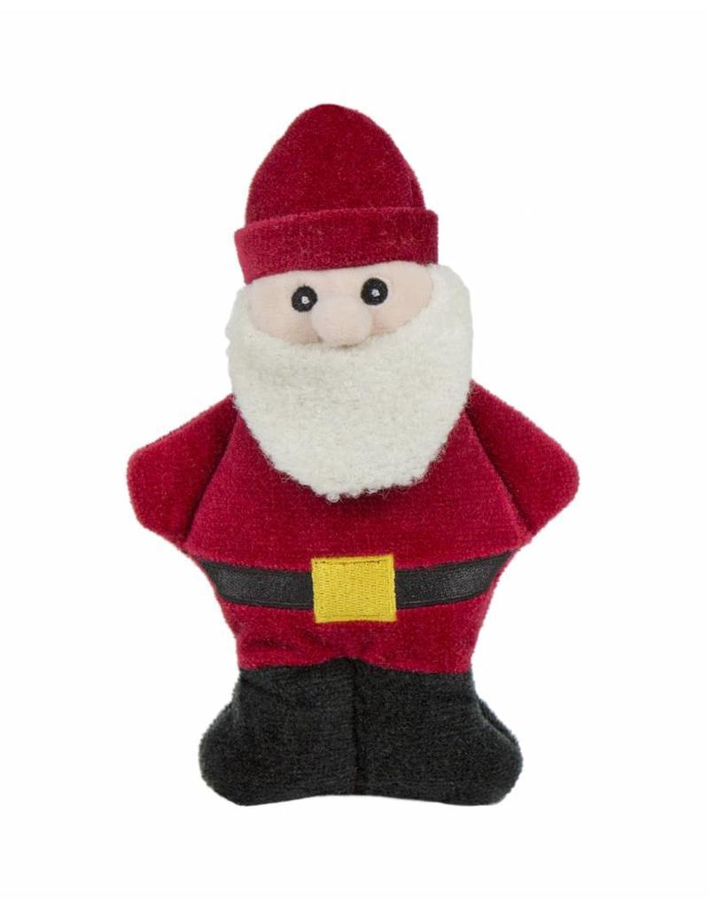 Huggle Hounds Christmas Plush Corduroy Durable Cookie 2018 Santa