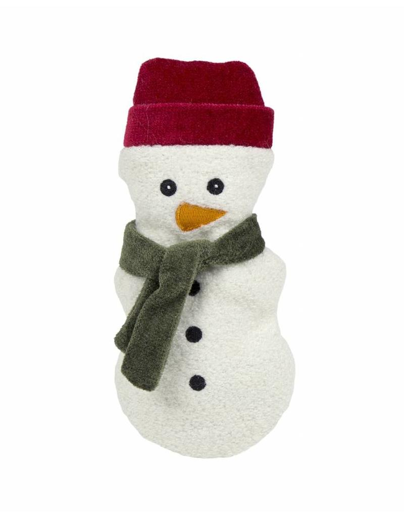 Huggle Hounds Christmas Plush Corduroy Durable Cookie 2018 Snowman