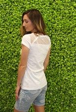 Tribal Mesh Back Tee
