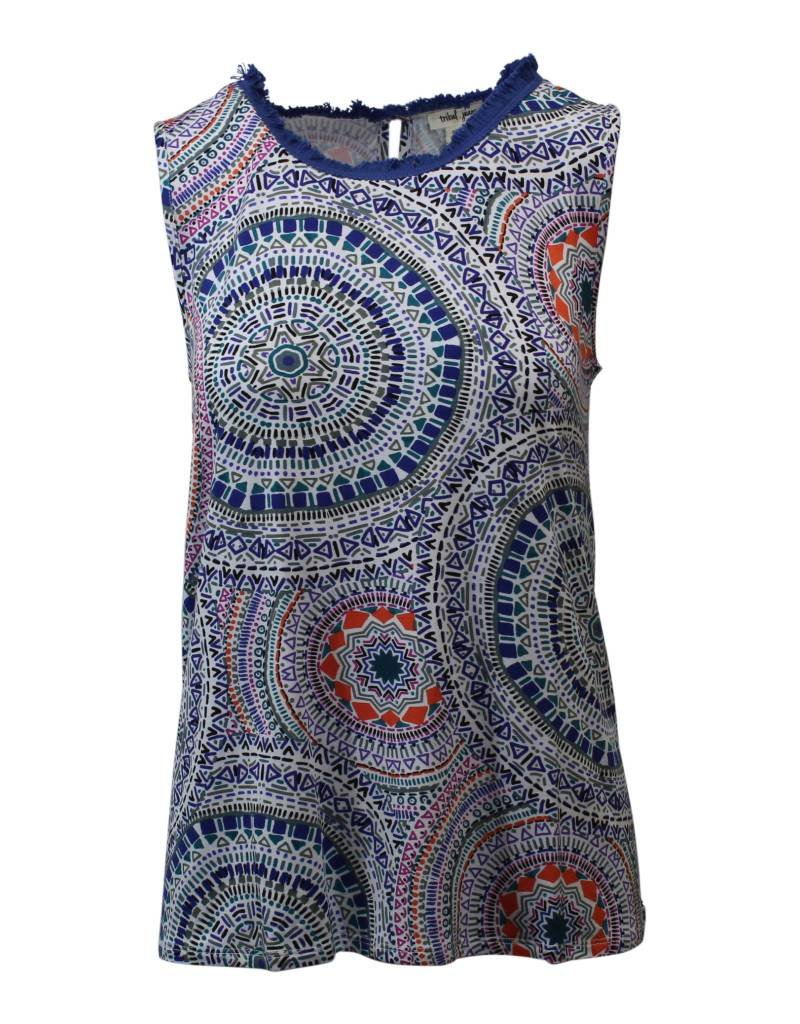 Tribal Cami with Fringe
