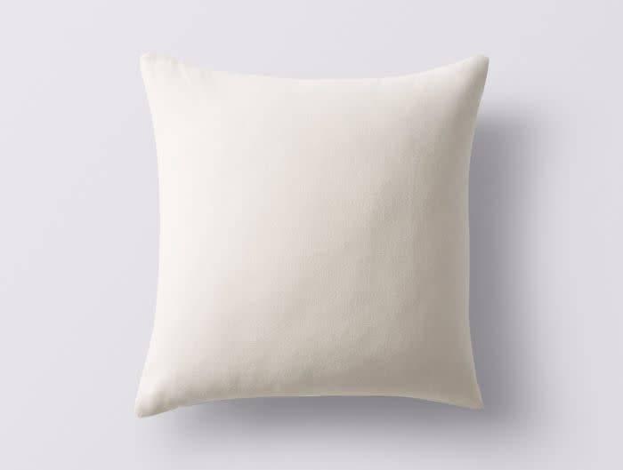 """Coyuchi Organic Kapok Pillow Insert, Undyed - 14"""" x 14"""""""