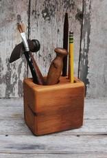 Peg and Awl Desk Caddy, Walnut - Small