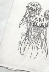 Two Little Fruits Jellyfish - Tea Towel