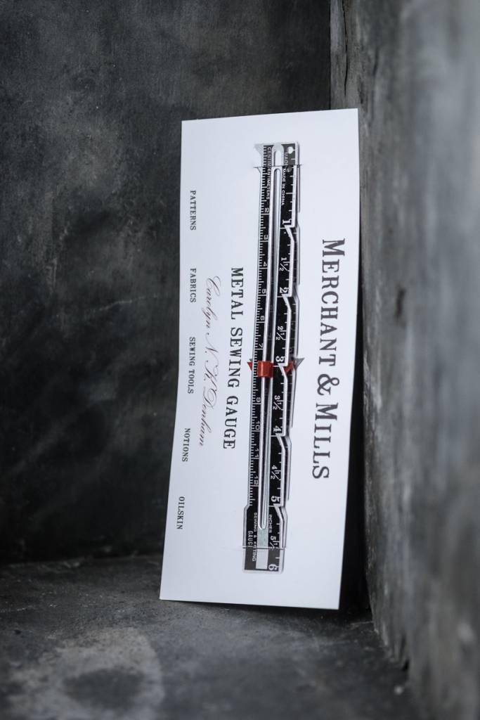 Merchant & Mills England Metal Sewing Gauge