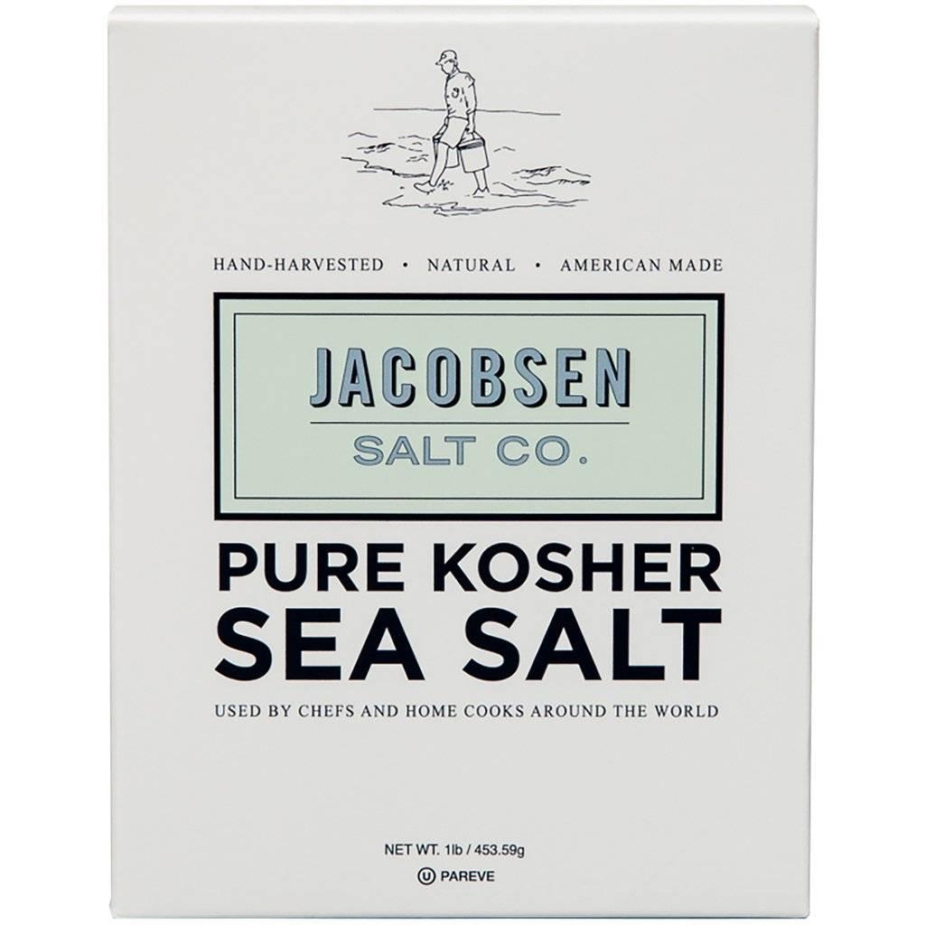 Jacobsen Salt Pure Kosher Sea Salt - 1 lb.