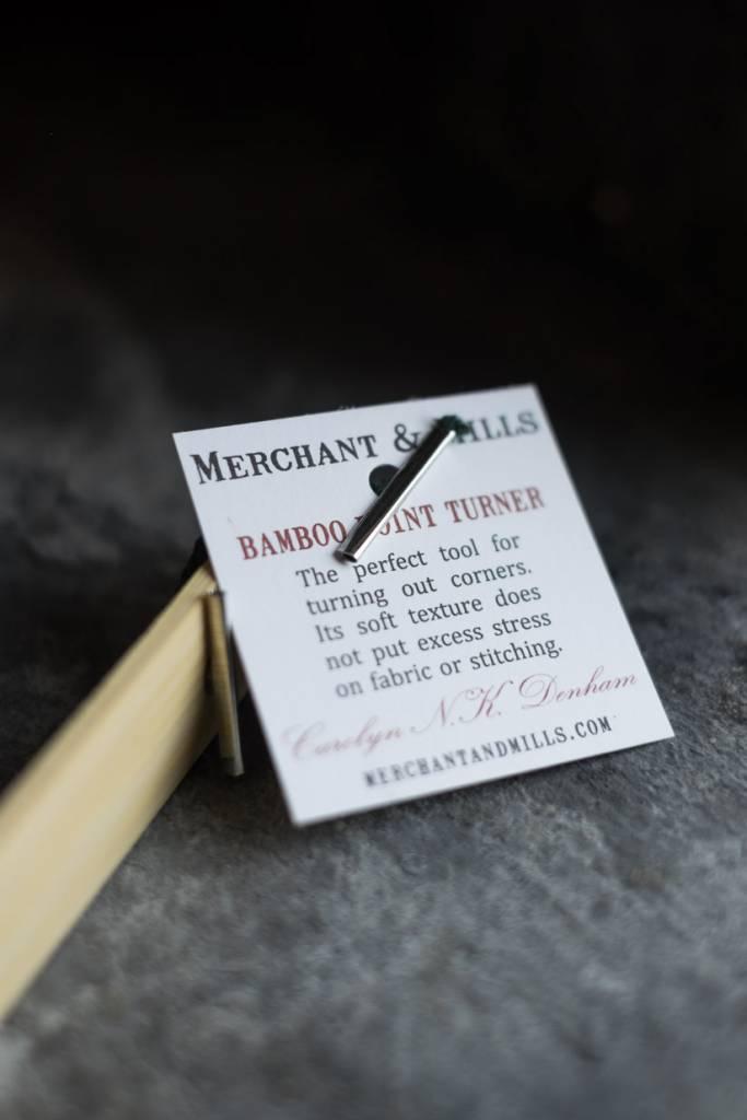 Merchant & Mills England Bamboo Point Turner