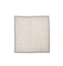 "Libeco Belgian Linens Fjord Washed Linen Napkin, 17.5"" x 17.5"" - Ash"