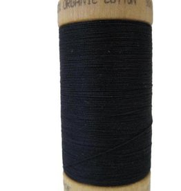 Scanfil Scanfil Organic Cotton Thread, 300 yds. - Coal Black