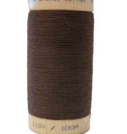 Scanfil Scanfil Organic Cotton Thread, 300 yds. - Walnut