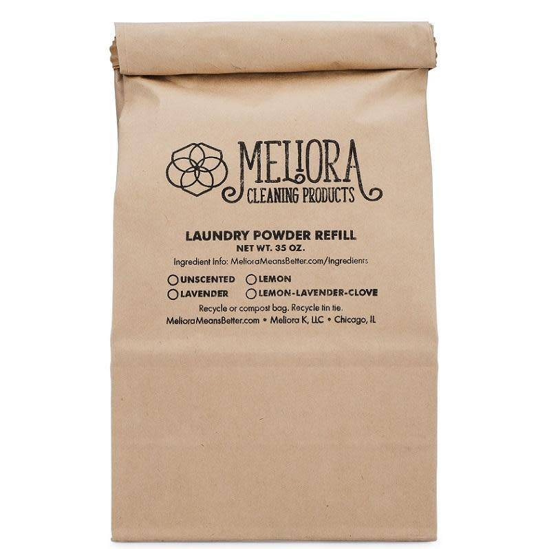 Meliora Meliora Laundry Powder Refill, 64 Loads Unscented - 35 oz.