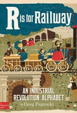 Baby Lit R is for Railway Board Book