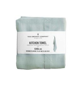 The Organic Company Organic Kitchen Towel, Sky