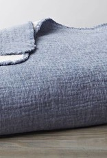"Coyuchi Cozy Cotton Baby Blanket, Organic, 42"" x 32""  - Riverstone"