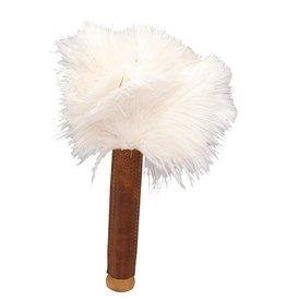 Burstenhaus Redecker Skin Relaxer, white ostrich feather