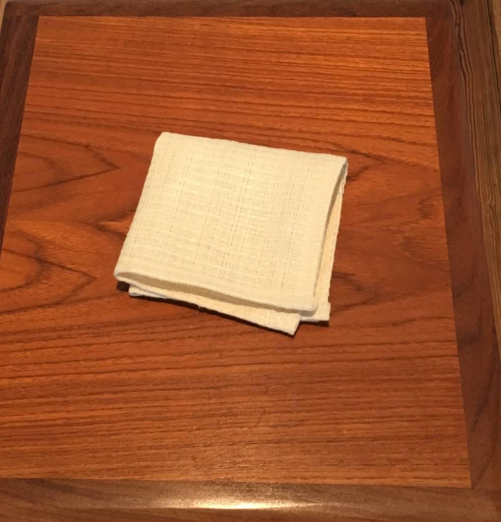 "Pickwick House Organic Hemp Dish Towel,  10"" x 10"""