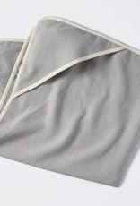 "Coyuchi Mediterranean Swaddle Blanket, 40"" x 40"" - Pewter"