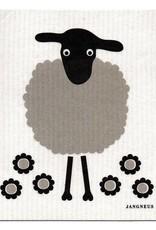 Jangneus Black Sheep Swedish Dishcloth
