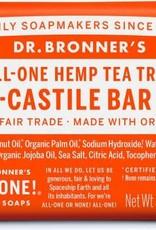 Dr. Bronner's Dr. Bronner's Castile Bar Soap, Tea Tree 5 oz.