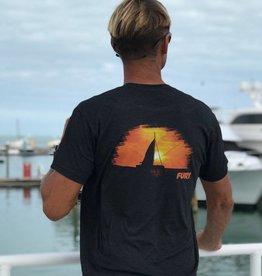 Fury Sunset Sail T-shirt