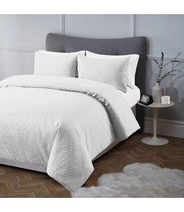 ADRIEN LEWIS REEVE JACQUARD COTTON RICH 3PC DUVET COVER SET (MP2)