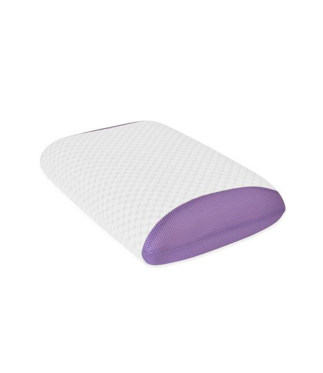 """MAISON BLANCHE LAVENDER-INFUSED MEMORY FOAM PILLOW 15.75X25.5+4"""" (MP6)"""