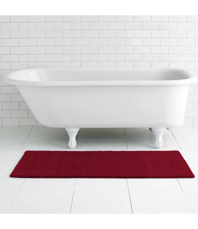 LAUREN TAYLOR RUNNER MEMORY FOAM BATH MAT AST 21X48 (MP12)