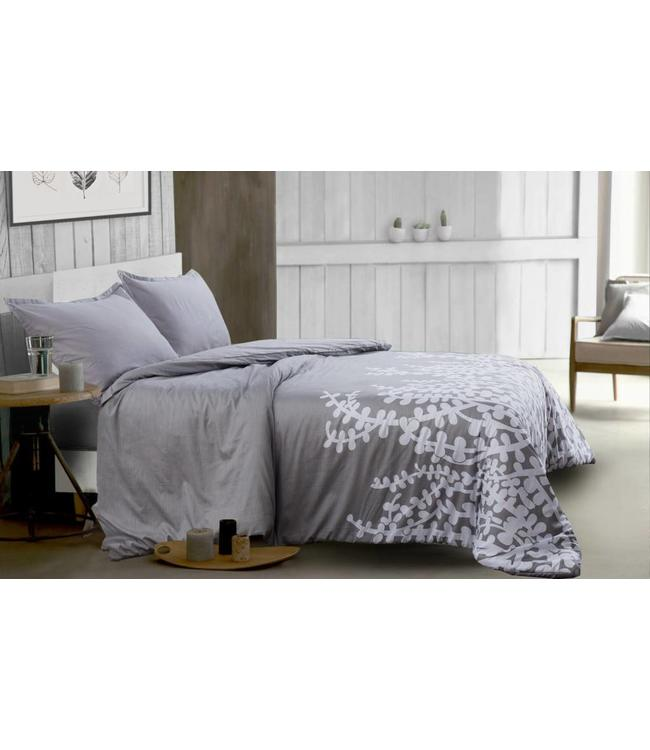 *PRIYA GREY 3PC DUVET COVER SET (MP2)