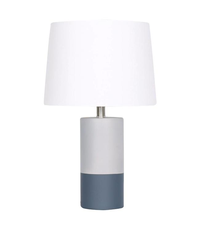 ADRIEN LEWIS CONCRETE TABLE LAMP GREY (MP2)