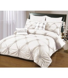 RUCHED DUVET COVER