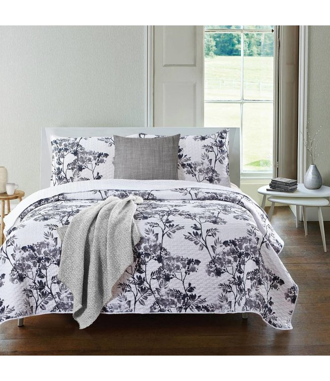 MADELINE GREY 3PC QUILT SETS (MP3)