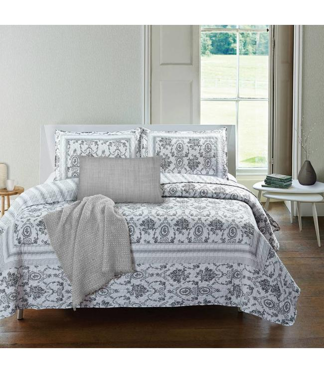 *OCTAVIA QUILT SET BLACK/WHITE (MP3)