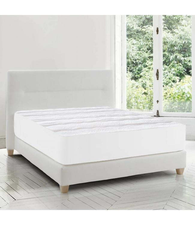 W HOME SOFT TOUCH MATELASSE MATTRESS PAD (MP4)