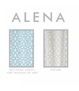LAUREN TAYLOR *ALENA SHOWER CURTAIN (MP12)