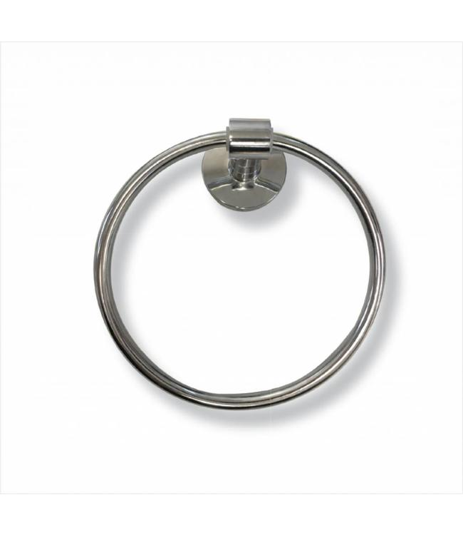 MAISON CONDELLE TOWEL RING/WALL MOUNTED CHROME (MP6)