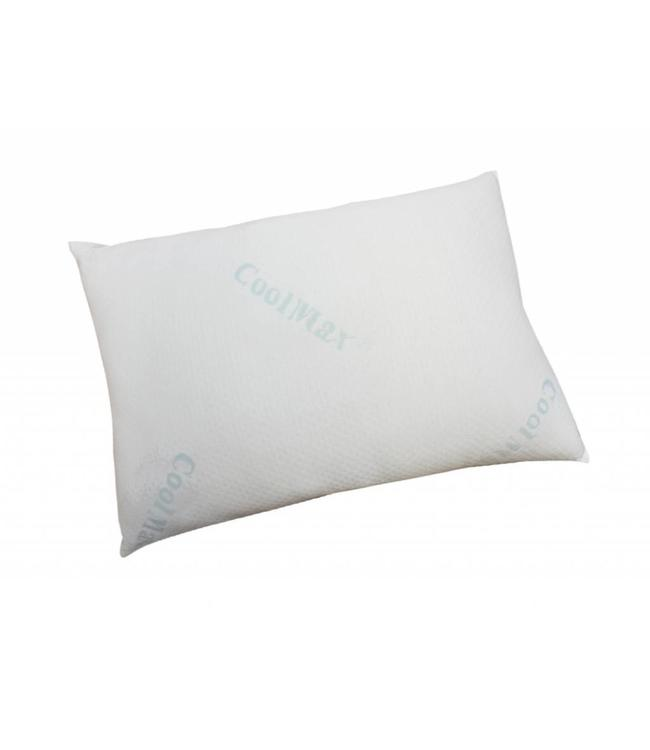MAISON CONDELLE COOLMAX KNITTED PILLOW WHITE (MP12) QUEEN