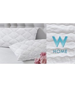 W HOME SOFT TOUCH MATELASSE PILLOW PROTECTOR