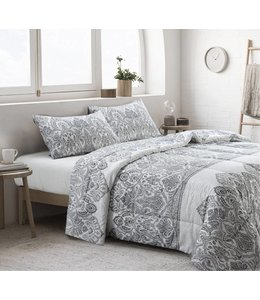 LAUREN TAYLOR MACKENNA 3PC COMFORTER SET ASSORTED (MP4)