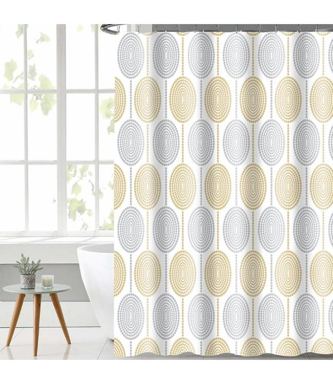 MAISON CONDELLE LIDA BALTIC SHOWER CURTAINS YELLOW (MP12)