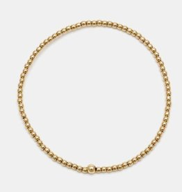 Karen Lazar Small 2 mm Yellow Gold Filled Bracelet