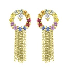 Eden Presley Full Moon Dangle Studs