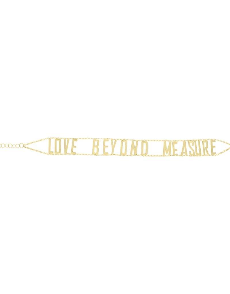Eden Presley Gold Mantra Bracelet