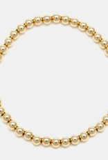 Karen Lazar Extra-Large 5mm Yellow Gold Filled Bracelet