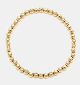 Karen Lazar Extra-Large 5mm Yellow Gold Filled Bracelet