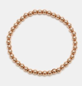Karen Lazar Large 4mm Rose Gold Filled Bracelet