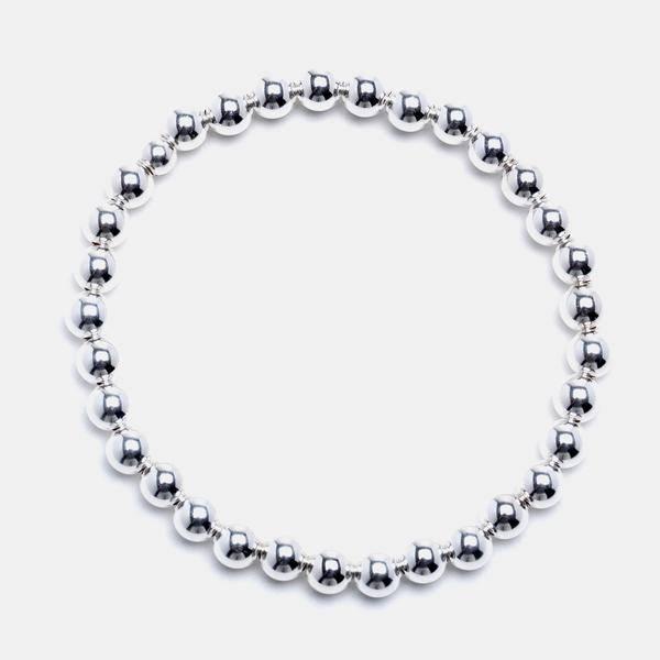 Karen Lazar Extra-Large 5mm Sterling Silver Bracelet