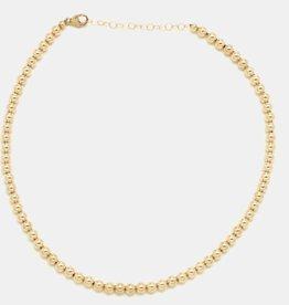 Karen Lazar 5mm Yellow Gold Filled Necklace