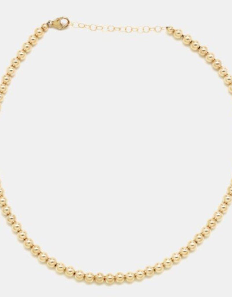 Karen Lazar 4mm Yellow Gold Filled Necklace