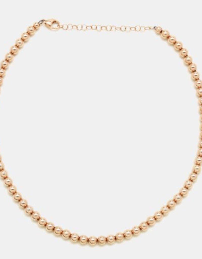 Karen Lazar 4mm Rose Gold Filled Necklace