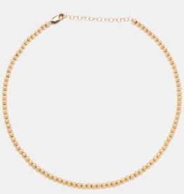 Karen Lazar 3mm Rose Gold Filled Necklace