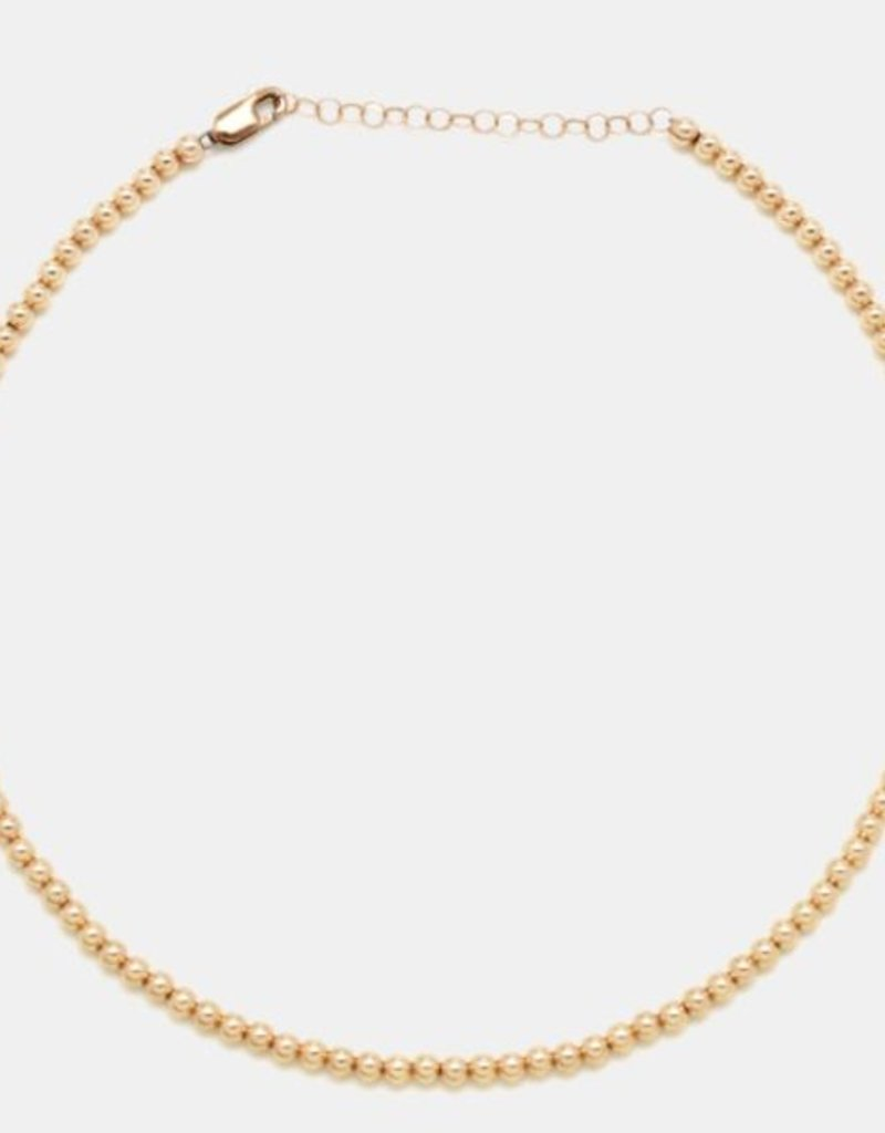 Karen Lazar 3mm Rose Gold Filled Necklace